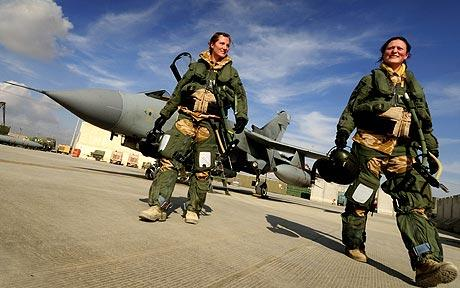 All-female Tornado Jet Crew Describe War In Afghanistan ...